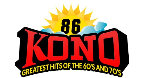 86KONO - Greatest Hits of the 60's and 70's Logo